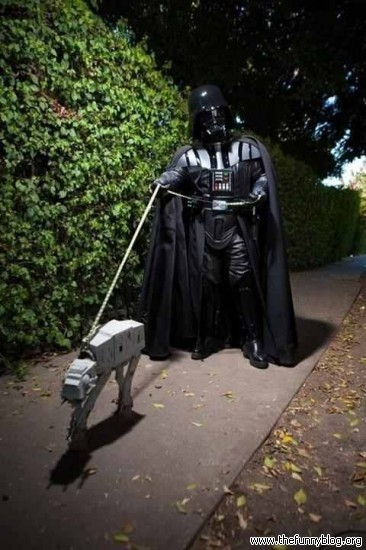 star_wars_darth_vader_atat_walking_night_funny_picture